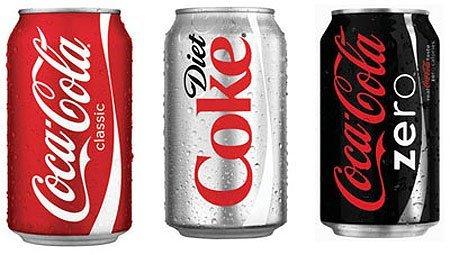Coke Cans - Cambridge Pizza