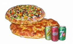Combo #6 Pizzas - 2 for 1 Pizza