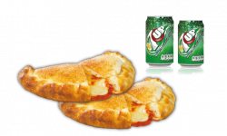 Two Panzerottis with Three Toppings