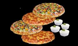 Combo #8 - Four Pizzas