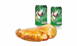 Panzerotti with<br> 3 Toppings <br>(For pick-up only)